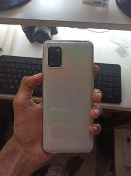 Samsung A31 6/128gb 4 days old with bill box and accessories