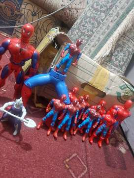 Many spiderman for sale