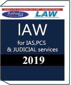 Rahul IAS law Printed Notes 2020