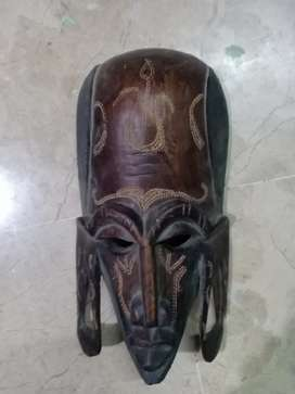 Antique African wooden Mask