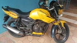 TVS Apache Yellow 160 RTR