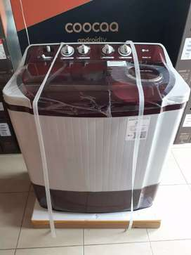 Mesin cuci Lg 9kg gress garansi resmi pabrik original