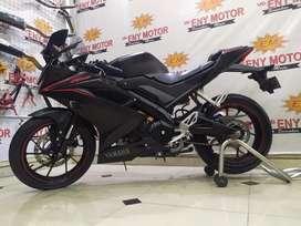 DABOOM! Yamaha R15 V3 155 2017 Hitam Km 6rbREAL - Eny Motor