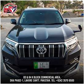Land Cruiser v8, Fortuner, Prado onxy rent a car