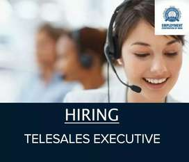 URGENTLY REQUIRED TELESALES EXECUTIVE
