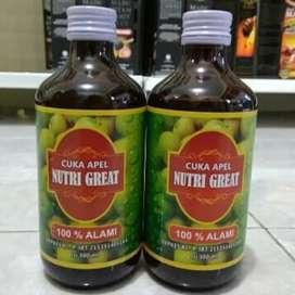 Cuka apel untuk kolesterol asam urat stamina