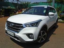 Hyundai Creta 1.6 SX Plus Auto, 2019, Petrol