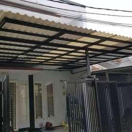 @35 canopy minimalis rangka tunggal atapnya alderon rs masa kini