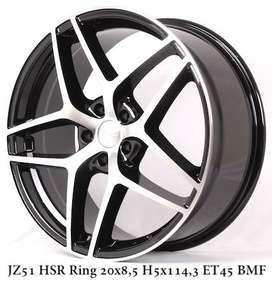Velg HSR Jz51 Ring 20 Untuk Mobil New Livina
