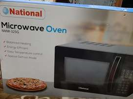 National Microwave oven with Grill brand new box pack