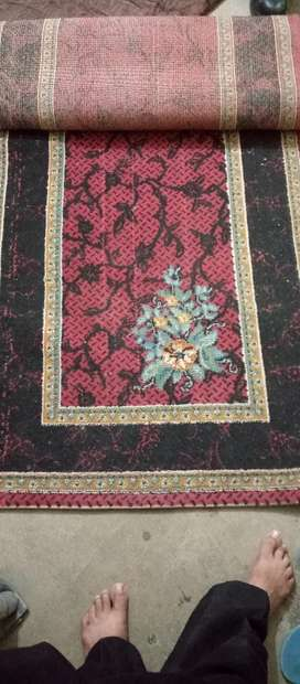Runners carpet good condition 5000 each