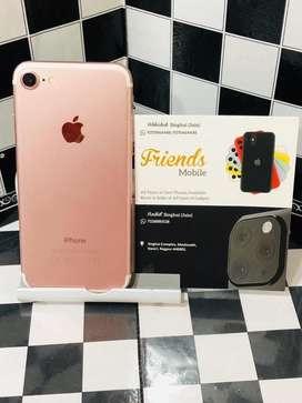 I phone 7 128 gb rose gold (fixx price)