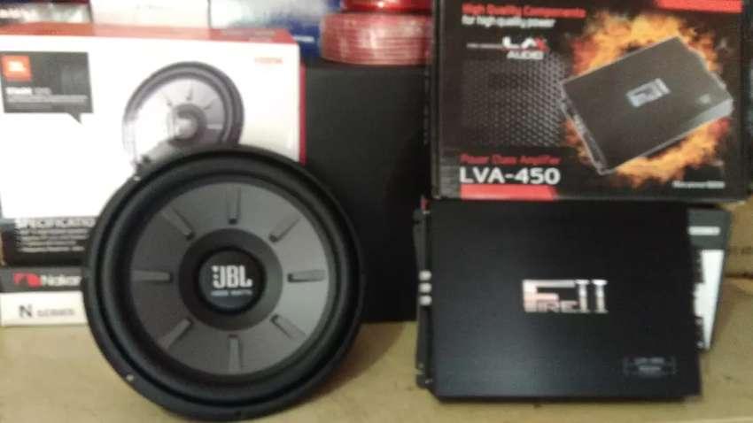 Power LM 4 Chnl, Subwoofer JBL 12 inchi,Box sub mdf,Tweter satu set 0