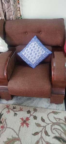 2 sofa set 5seater