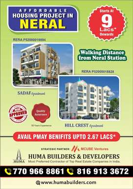 Affordable Housing Project in Neral starting from 9lacs