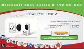 Microsoft Xbox Series S 512 Gb SSD Brand New 1Year Warranty Seal Pack