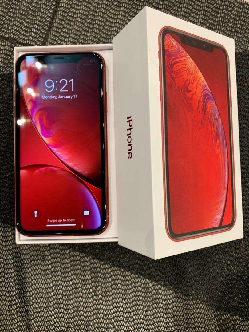 Iphone XR Red 64gb Second Fulset 0