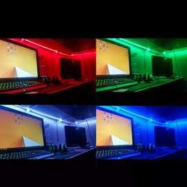Nyala Keren, Lampu Led Strip Tipenya RGB Mata Besar 5050.