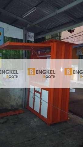 biaya membuat booth container Matraman Jakarta Timur