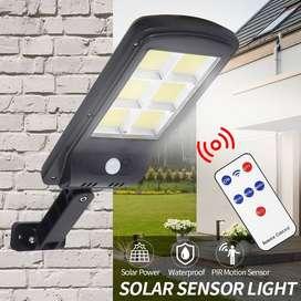 Lampu Jalan Sensor Tenaga Surya 300W Lampu PJU Solar Light 300W 6 COB