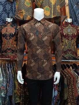 Batik Slimfit Pria Modern