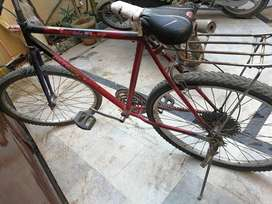 This bicycle is old more than 5 years