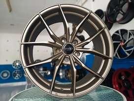 Velg Original Atmos X Ring 18x8 Pcd 5x114.3 ET42 On Camry Civic Innova