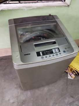LG 6.5 LTR FULLY AUTOMATIC WASING MASIN FULL Working