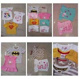 Night pant Boys tshirt Girls frock export surplus Tiruppur boxer