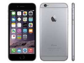 iphone 6+ grey 64 GB turbo Only phone 85% condition