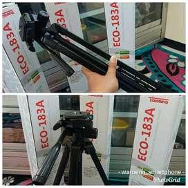 Tripod Takara ECO 183A Untuk Kamera Maupun HP Tinggi Maks 1.35m