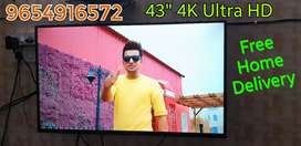 """Imported 43"""" 4K Ultra HD Smart Android Led Tv 1 years Warranty"""