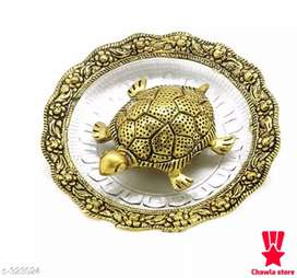 It Has 1 Piece Of Oxidized Golden Metal Vaastu Feng Shui Tortoise