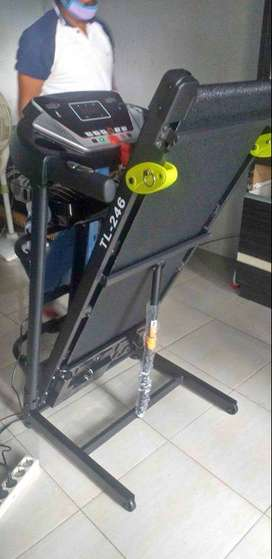 TL246 Treadmill Elektrik Terbaru Produk Total Fitness