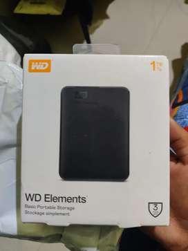 External Hard Disk (WD elements)