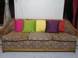 Sofa set : 5 seater