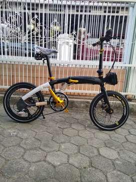 Sepeda lipat Pasific noris pro