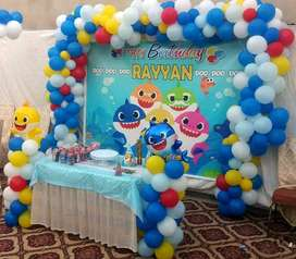 Balloon Decoration for Birthday Themes