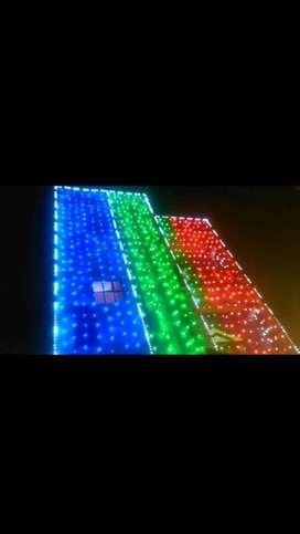 we provide all decoration lightings dj sound
