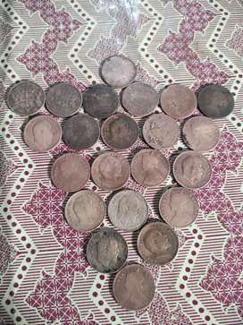 Antique pakistani and Indian coins