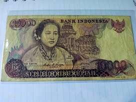 Uang Kertas 10000 rb Rupiah Kartini