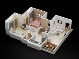 #38 lakh,2 bhk flat in Hinjewadi,Marunji
