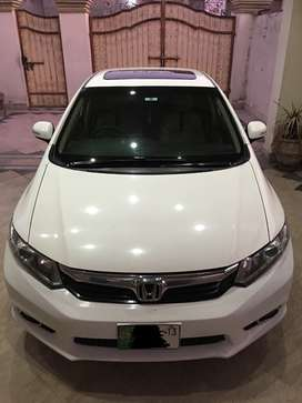 Honda civic VTI oriel prosmatic, 2013 model, lahore registered