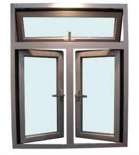 Kusen alumunium pas buat jendela,pintu dan partisi a420n