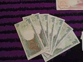 UANG KERTAS LAMA INDONESIA 500 Rupiah tahun 1992