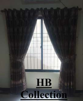 2 Piece Heavy Quality Curtains, HB Fabrics