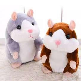 Boneka hamster peniru suara edukatif