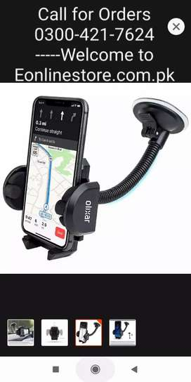 Rs. 799  | Universal Car Mobile Holder with suction cup- Black |