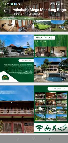 Disewakan villa Melati lokasi strategis Dan nyaman