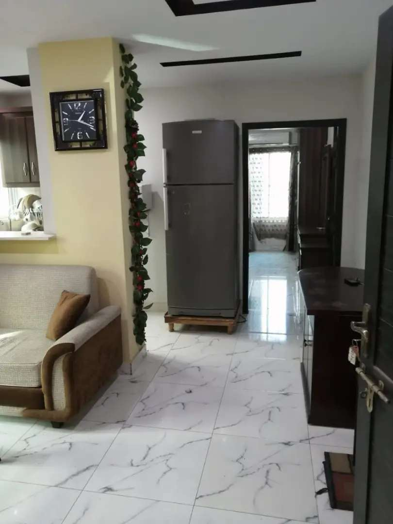E 11 PER DAY ONE bed full furnished  flat available for rent 0